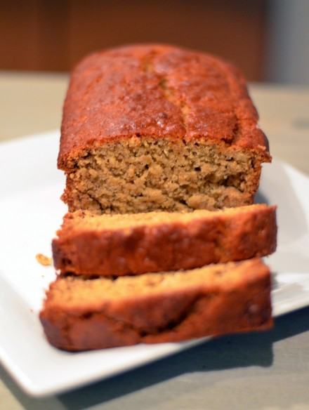 Pineapple Coconut Banana Bread