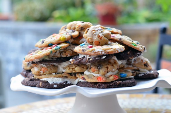 Triple Cookie Stack Cake